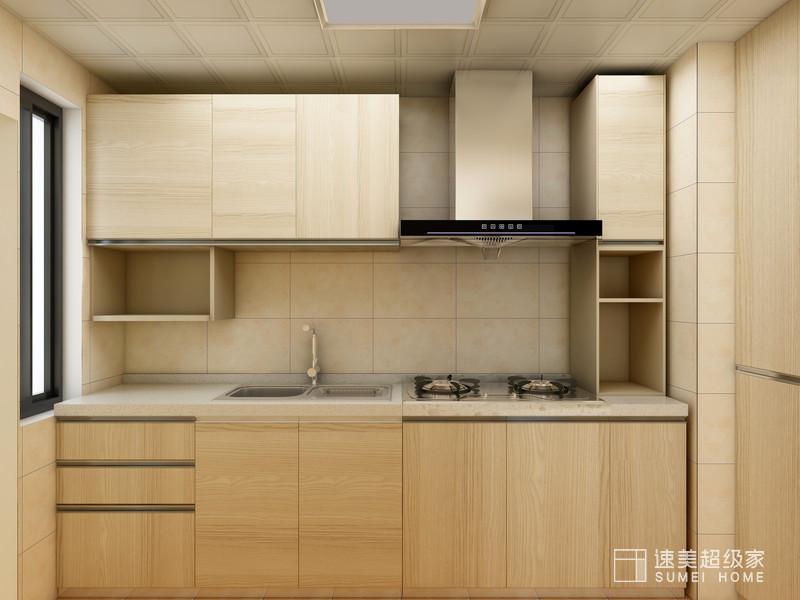 东易日盛装饰用色彩搭配打造不一样的厨房